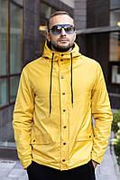 Мужская осенняя куртка желтая River