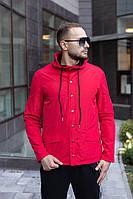 Мужская осенняя куртка красная River