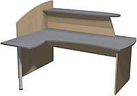 Стол Премьера рецепшн (правый) 180х150х127 см