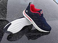 Весенние мужские кроссовки в стиле ASICS 220 BLUE синие