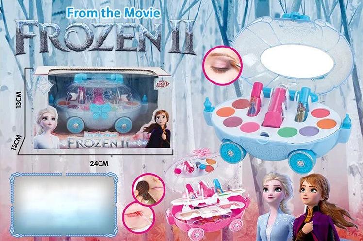 """Дитяча косметика """"Frozen"""" CS68E4 палетка на колесах"""