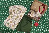 Подарочный набор с молодежной пижамой и маской для сна для девушки
