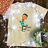 Чоловіча футболка з принтом - Шин