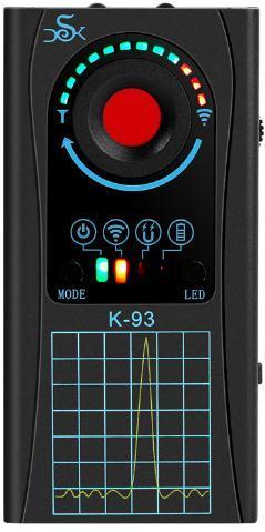 Детектор жучков GPS трекеров и скрытых видеокамер К93 2021г