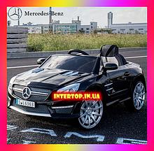 Детский электромобиль на пульте управления Мерседес Mercedes-Benz SL63 AMG  Черный