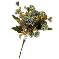 """Букет цветов """"Хризантема синяя"""" в упаковке 6 шт (8100-049)"""