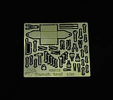 Слесарный инструмент. Фототравленные детали. 1/48 VMODELS 48012