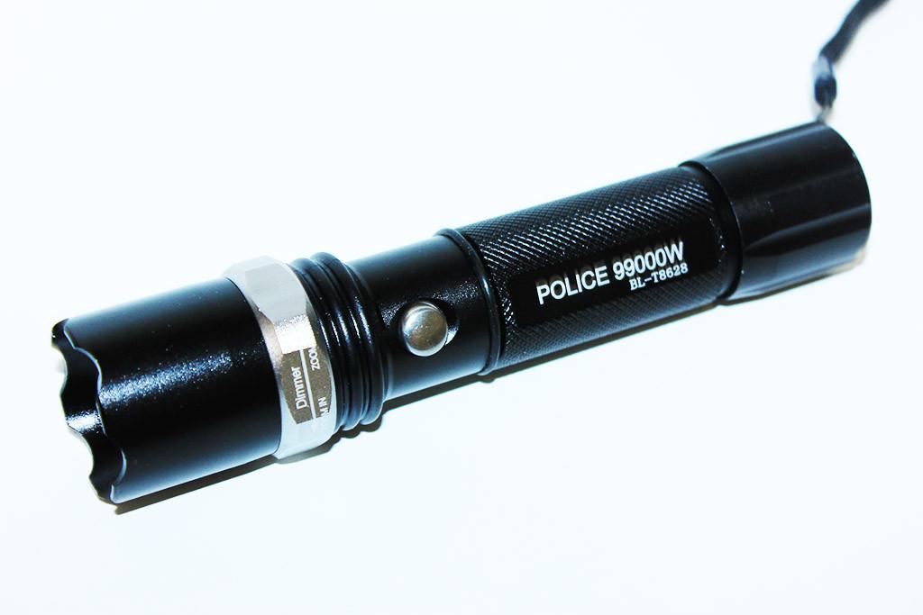 Ліхтарик Police 99000W BL-8628 (з кріпленням)