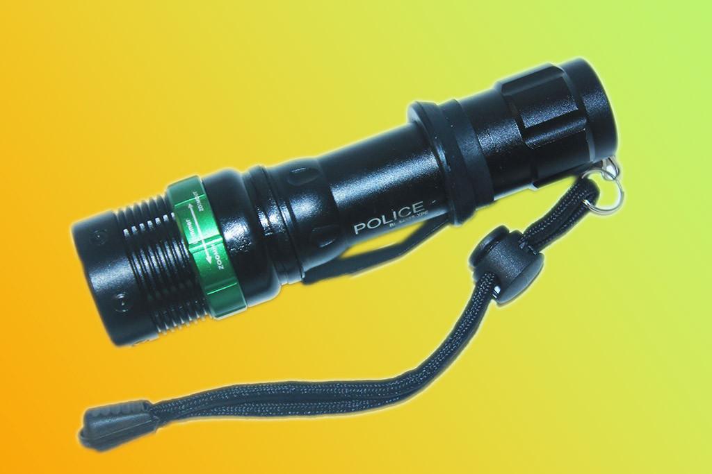 Тактичний ліхтарик Police BL - 8455S 30000W