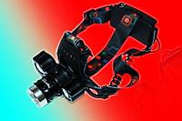 Ліхтарик налобний Police BL-C868-T6+2COB 320000W, фото 1