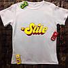 Чоловіча футболка з принтом - На Стилі