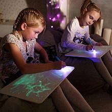 Рисуй светом A3, планшет для рисования в темноте, набор для рисования в темноте/ магазин Gipo
