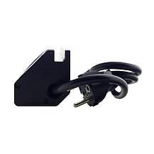 ElectroHouse Мебельная розетка (горизонтальная) 3 x 16A, 2 x USB 2.4A, металл + провод 3 x 1.5 mm², фото 3