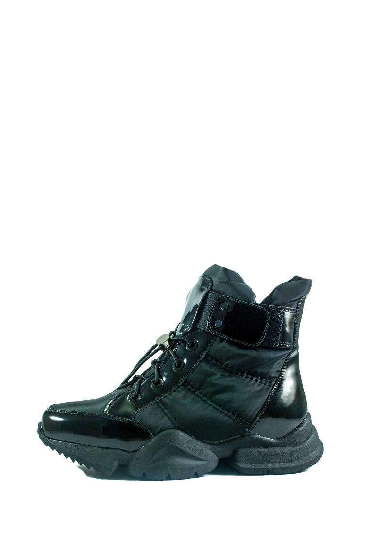 Ботинки зимние женские Lonza СФ 1552-N692 черные (36)