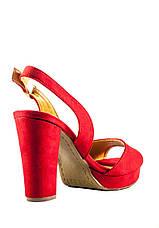 Босоножки женские летние Sopra СФ 1519-C9 красные (36), фото 2