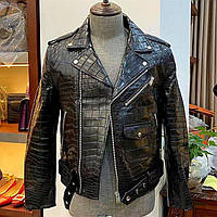 Куртка-косуха чоловіча з пітона