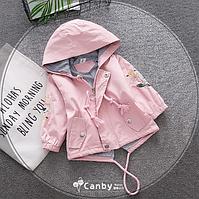 Дитяча сорочка вітровка для дівчинки 80, 86, 92, 98