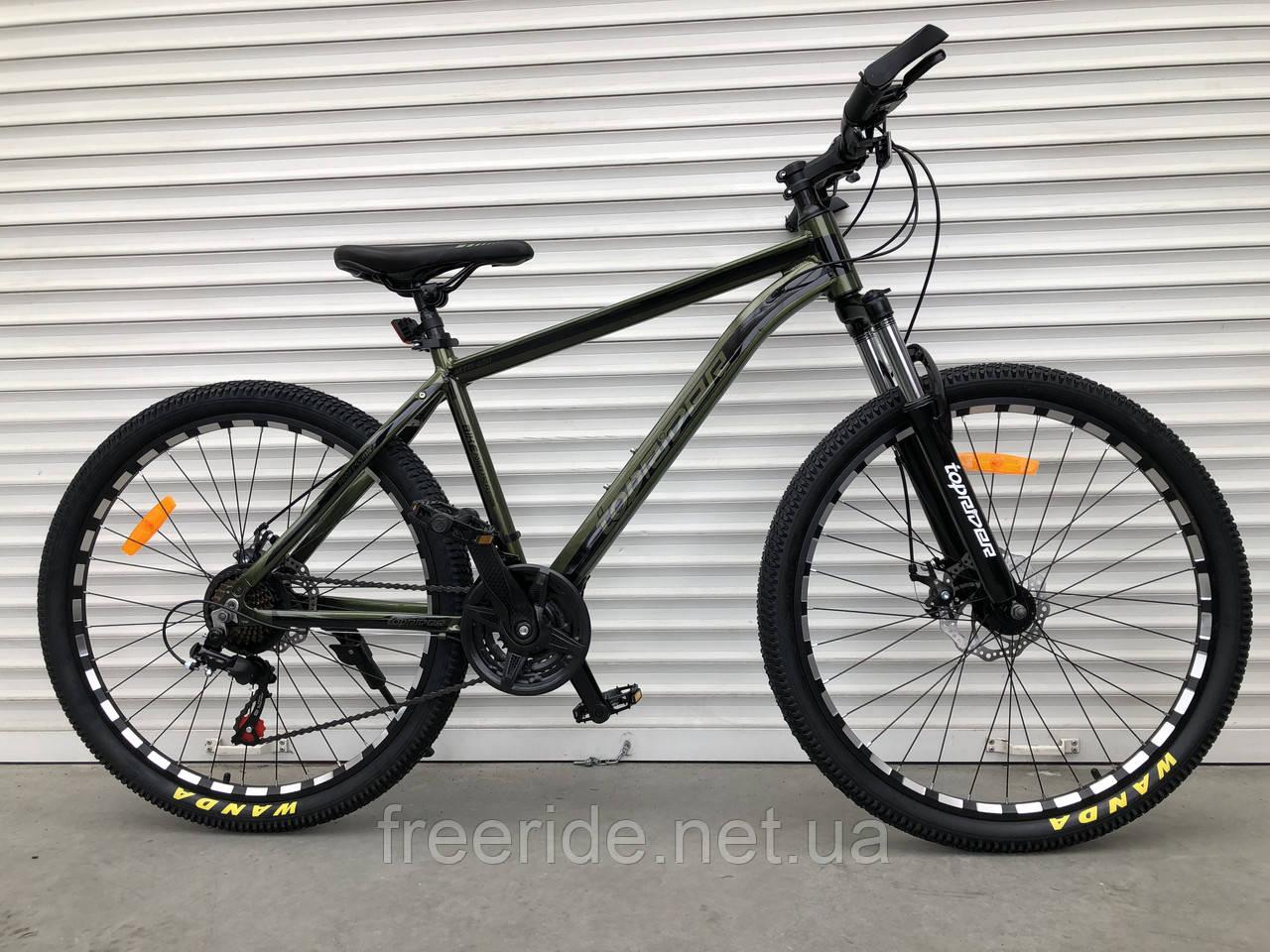 """Горный велосипед Toprider """"680"""" 26 (17) alloy Shimano"""