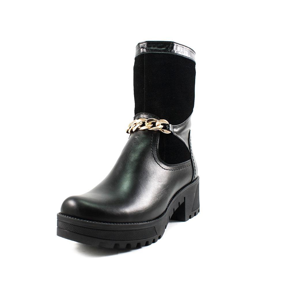 Ботинки зимние женские ZARUI ZAR6020 черные (38)