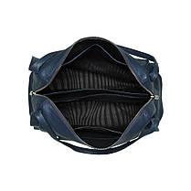 Сумка женская кожаная на 2 отделения Vito Torelli 1042 синяя, фото 3