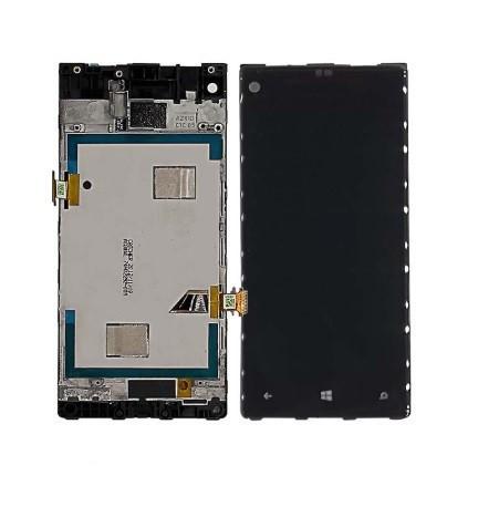 Дисплей для HTC Windows Phone 8x   C620e с сенсорным стеклом в рамке (Черный) Оригинал Китай
