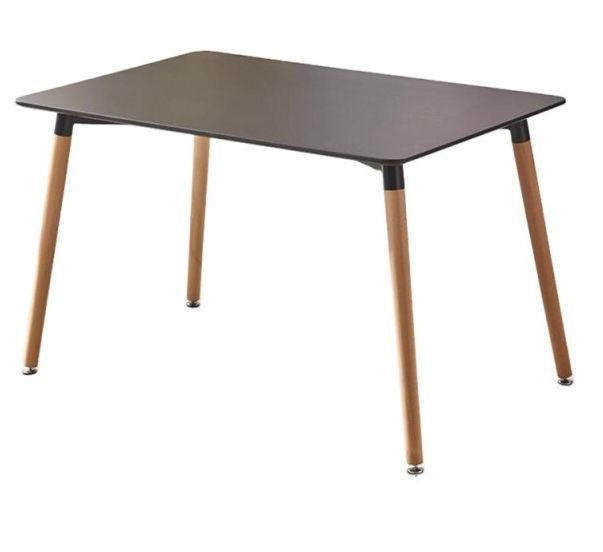 Стол Нури (120х80 см) (цвет Черный)