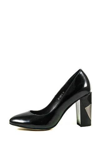 Туфли женские Elmira С7-109Т-9 черные (36), фото 2