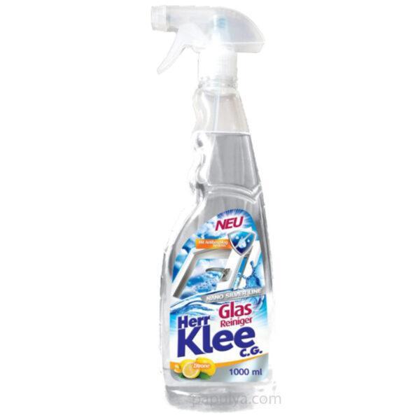 Средство для мытья стекол Herr Klee Лимон (с системой против запотевания стекол и зеркал ) 1 л