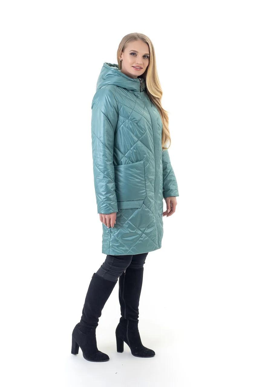 Фабрична демісезонна стьобана куртка якісна