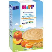 Каша молочная Hipp рисово-кукурузная Персик Абрикос 250 г