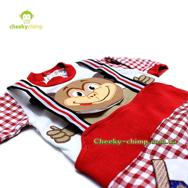 Человечек Monkey на мальчика 62, 68, 74 см