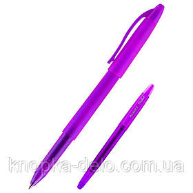 "Ручка гелевая AG1078-11-A ""пиши-стирай"" Perfect, фіолетова.Пишущий узел 0,5 мм. Цвет чернил: синий."
