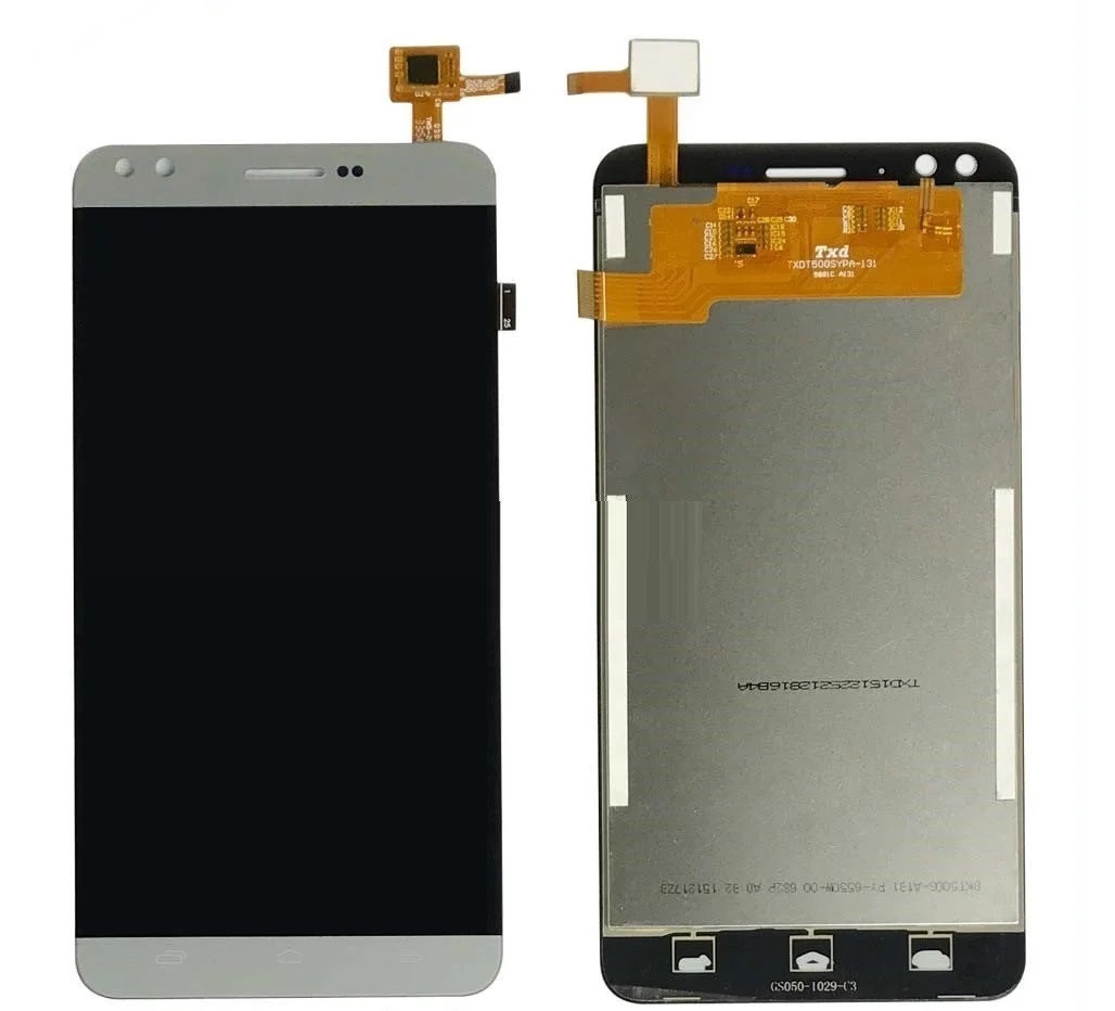 Дисплей для Prestigio MultiPhone 3504 Muze C3 с сенсорным стеклом (Серый) Оригинал Китай