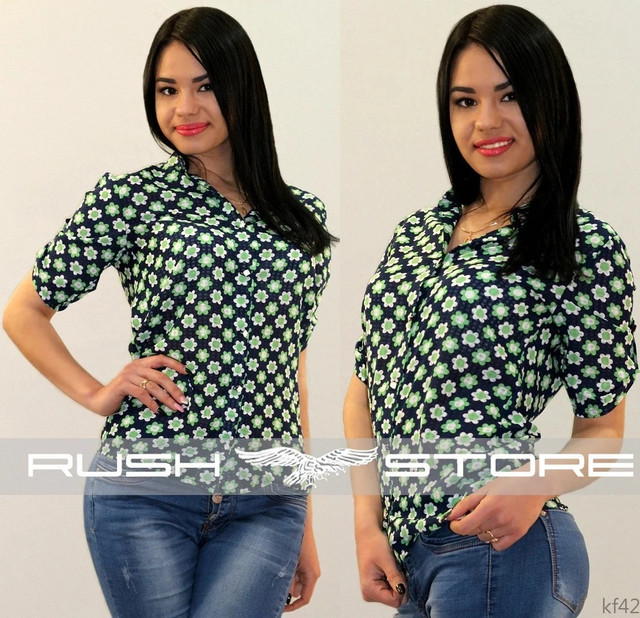 Батистовая рубашка женская