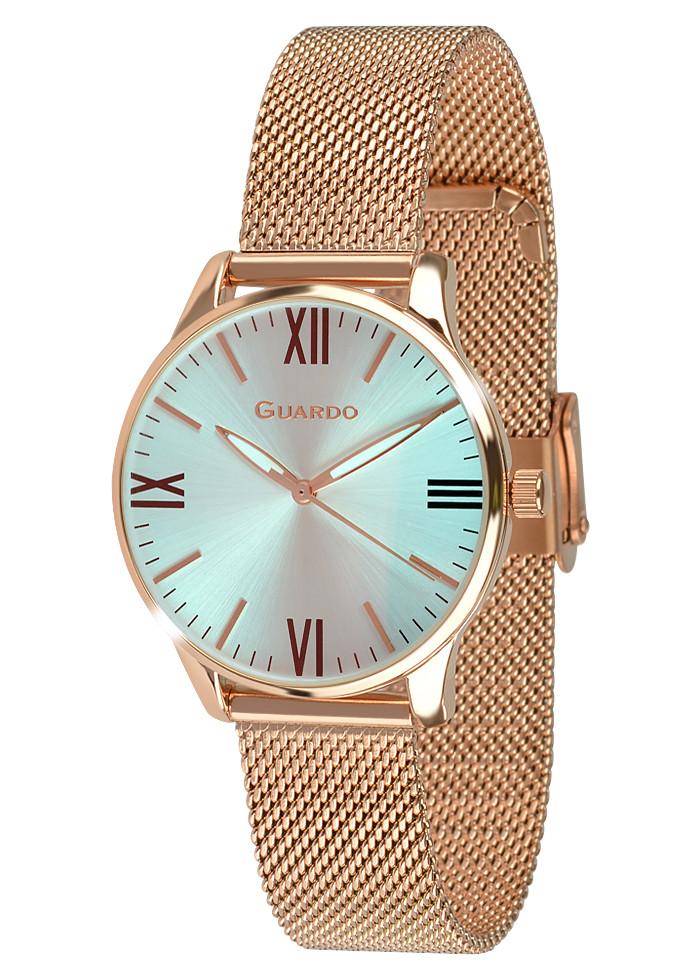 Женские наручные часы Guardo 012673-2 (m.RgW)
