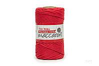 Эко шнур Macrame Cord 3 mm, цвет Красный