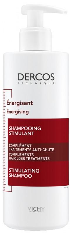 Шампунь проти випадіння волосся Віші Деркос Vichy Dercos Energising Hairloss Shampoo 400мл