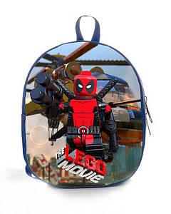Рюкзак детский принт Лего Lego - 003