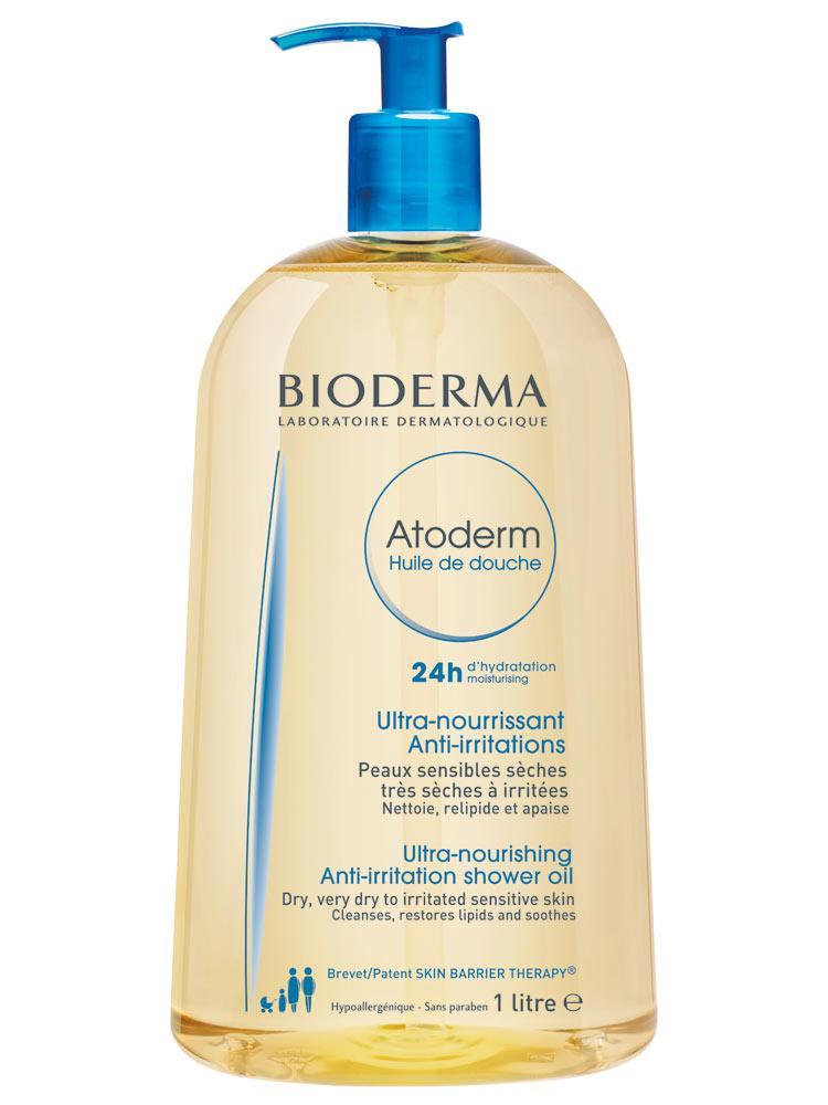 Масло для душа Биодерма Атодерм Bioderma Atoderm Shower Oil 1л