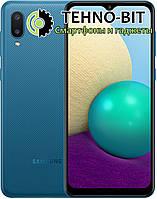 Смартфон Samsung Galaxy A02 2/32Gb Blue SM-A022G Гарантия 12 месяцев
