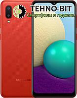 Смартфон Samsung Galaxy A02 2/32Gb Red SM-A022G Гарантия 12 месяцев