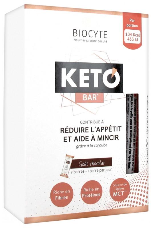Батончики для похудения Biocyte Keto Bar 7 шт