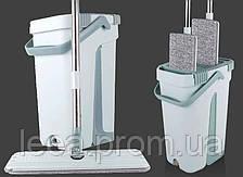Ведро с отжимом и шваброй Scratch Cleaning Mop (12х12х32 см)