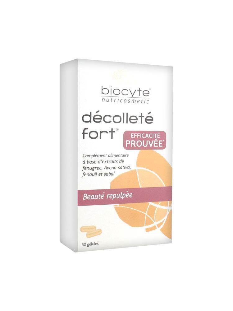 Biocyte Décolleté Fort 60 Capsules