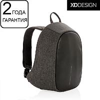 Рюкзак антивор с тревожной кнопкой XD Design Bobby Cathy Anti-harassment Backpack черный (P705.211), фото 1