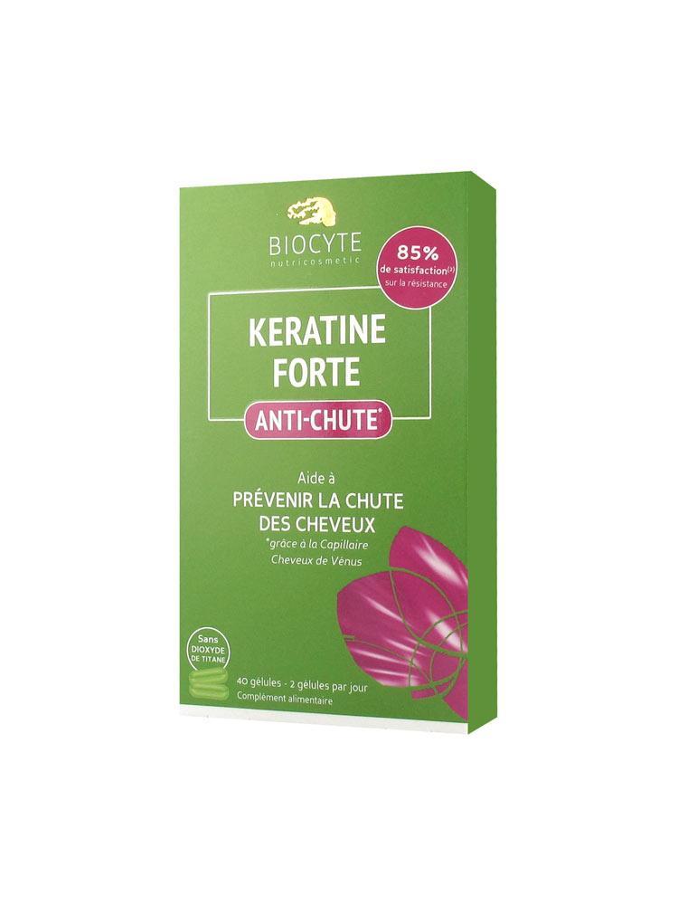 Харчова добавка проти випадіння волосся Biocyte Keratine Forte Anti-Hair Loss 40 капсул