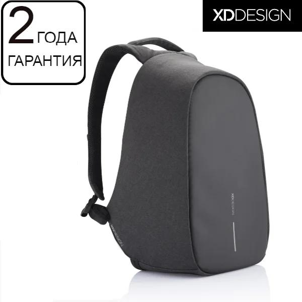 """Антикрадій рюкзак для ноутбука XD Design Bobby Pro Anti-theft backpack 15,6"""" чорний (P705.241)"""