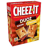 Снеки Cheez-It DUOZ Baked Snack Cheese Crackers, Bacon & Cheddar 351g, фото 1
