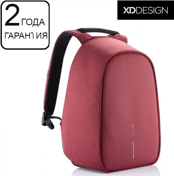 """Антивор рюкзак XD Design Bobby Hero Red 15.6"""", красный"""
