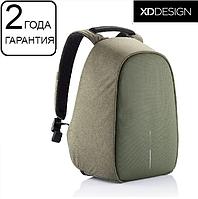 "Антивор рюкзак XD Design Bobby Hero Green 15.6"", зеленый, фото 1"